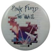 Pink Floyd - 'The Wall' Button Badge